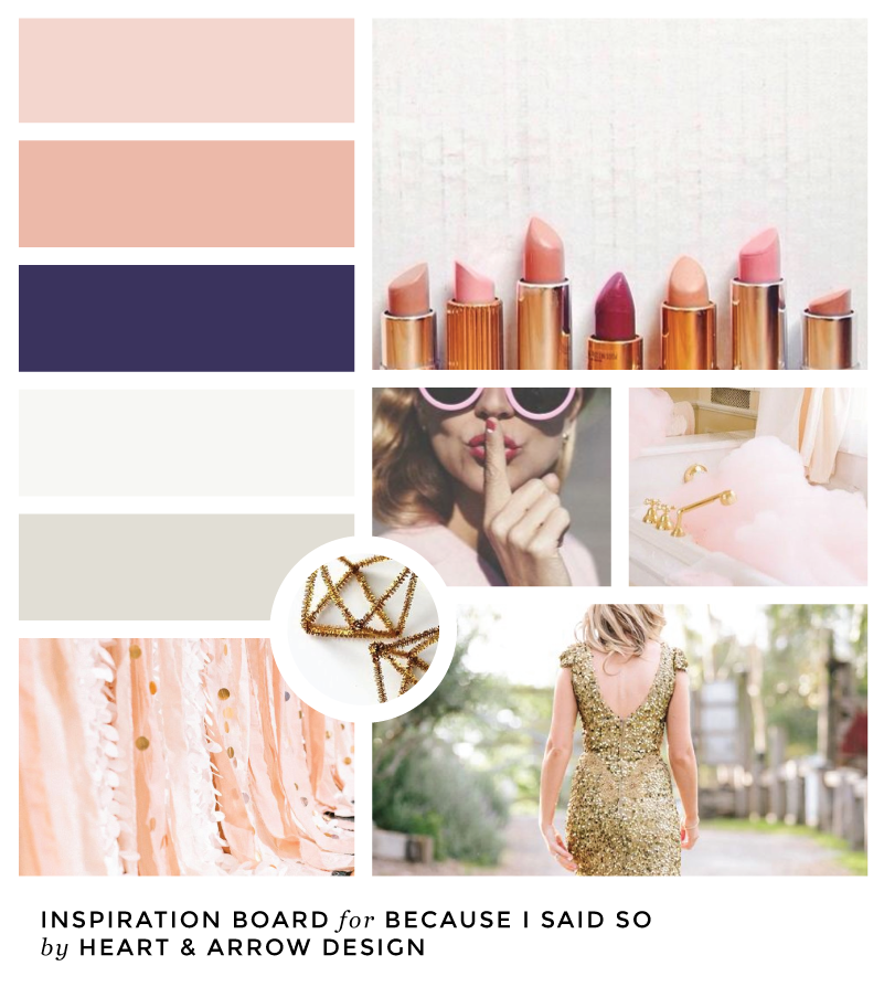 Blog Inspiration Board for Because I Said So