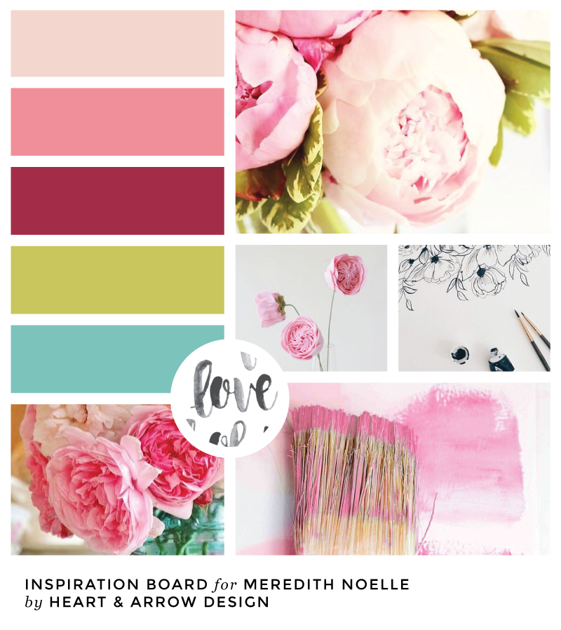 Meredith Noelle Color Inspiration Board
