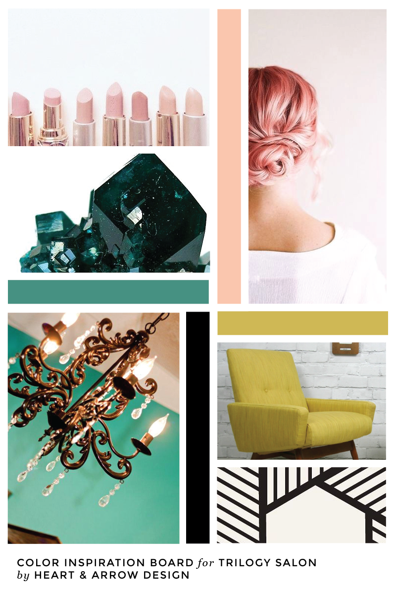 Trilogy Salon Retro Color Inspiration